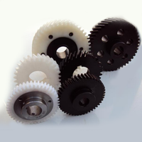 MMS OEM design durable precision large plastic gear