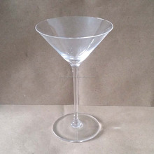 Crystal Martini Cocktail Long Stem Wine Glass