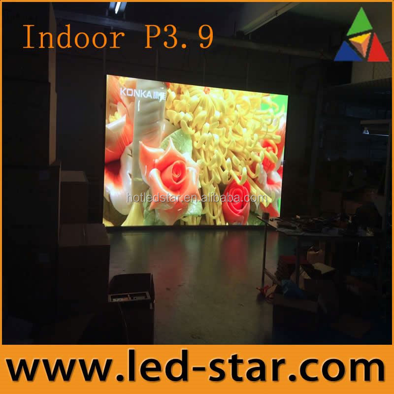 Hot offer P3.91 customized stage led video wall for concert from Shenzhen manufacturer