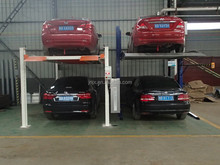 Two Column Mechanical Hydraulic Car Lift Parking System