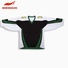 Sublimate print polyester ice hockey shirts manufacturer sale