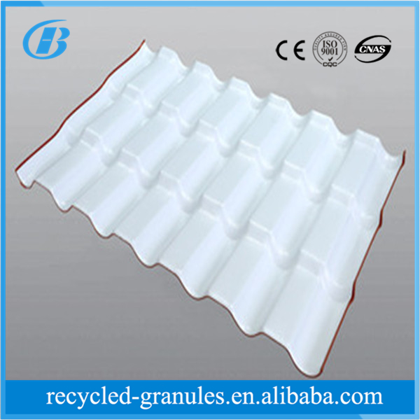 Building materials ASA Synthetic Resin plastic pvc roof tile Corrugated Plastic Roof Tile