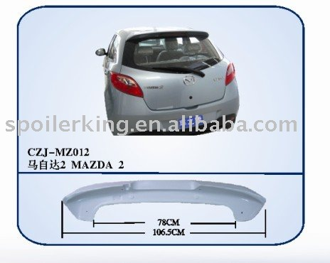 Abs rear spoiler for MAZDA 5