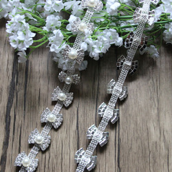 Wholesale Crystal Rhinestone Chain Trimming Bridal Sash Rhinestone Trim Applique Wedding Belt Garment Accessories RC70502