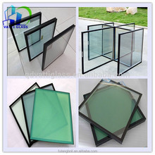 Soundproof low E insulated glass tempered glass for curtain wall glass