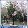 Powder coated metal fencing 2 or 3 rails for house protect