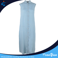 Customized lyocell western designs new fashion ladies long dress