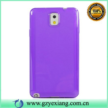 Colorful soft tpu case for samsung galaxy note 3 i9000 i9002 i9005