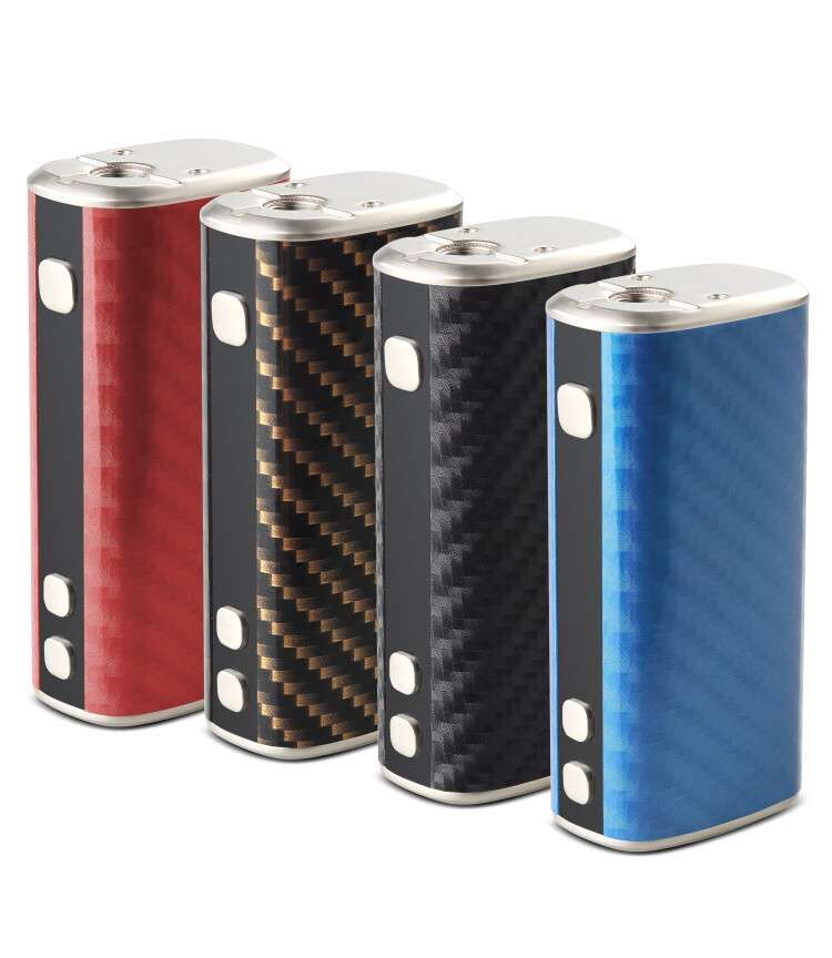 2017 Fashion design e-cigs 50W mod islim TC box mod in stock