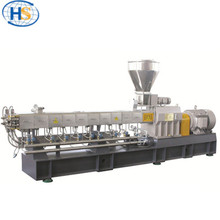 co-rotating raw material plastic pellet machine Twin screw color masterbatch granulator