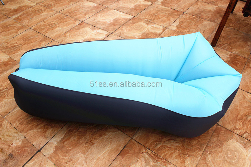 2017 Trending Products Creative Beach Air Bag Sofa Outdoor Fast Inflatable Air Sleeping Bags Air Sofa