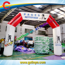 start finish outdoor event inflatable arch newly design entrance arch for racing