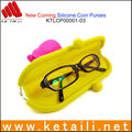 Hot New products silicone glasses bag