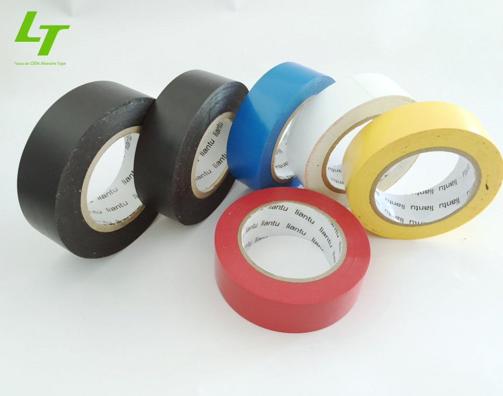 18mm*10m*0.13mm PVC Circuit Insulation Fireproof Electrical Tape