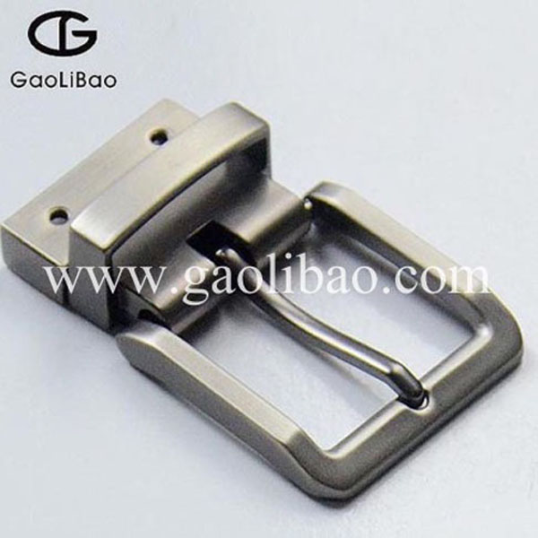 Western Pin turning buckle for belt ZINC ALLOY Reversible belt buckle manufacturer ZK-300158