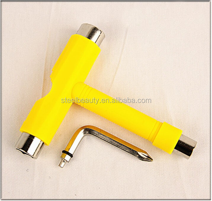 Hot sale skateboard tool multi-function roller skateboard skate T tool skateboard parts