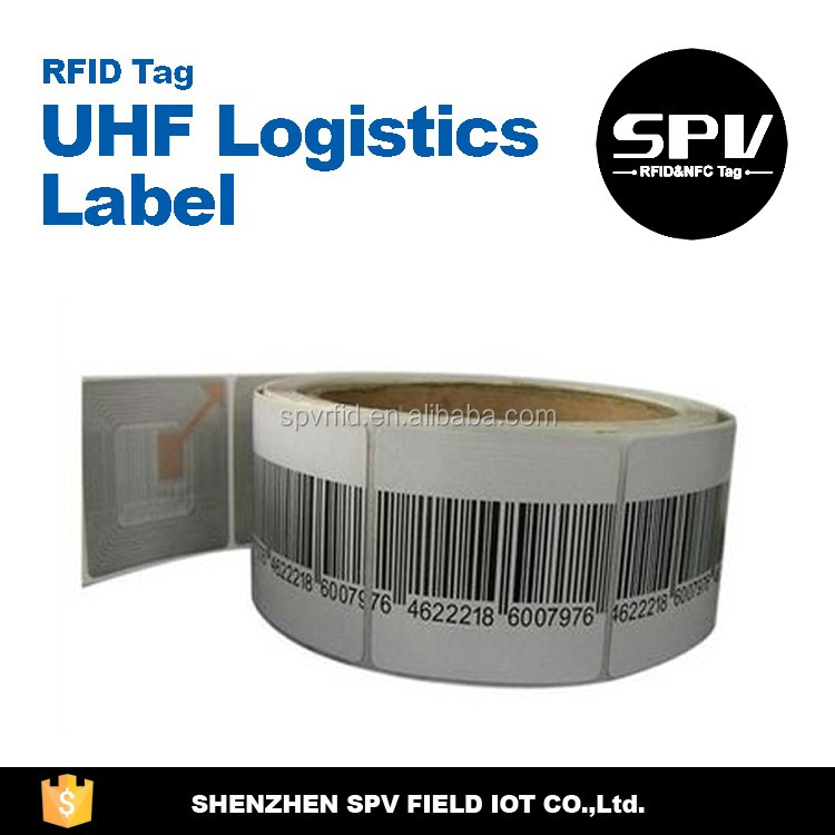 Customize Roll Orientation H4 Logistics UHF Sticker