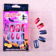 nail art halloween designs/wholesale false nails