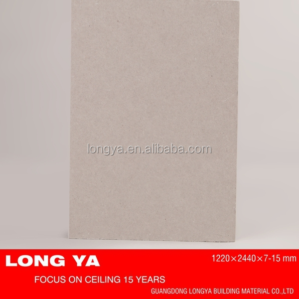 Cheap price gypsum board price in india for ceiling and partition