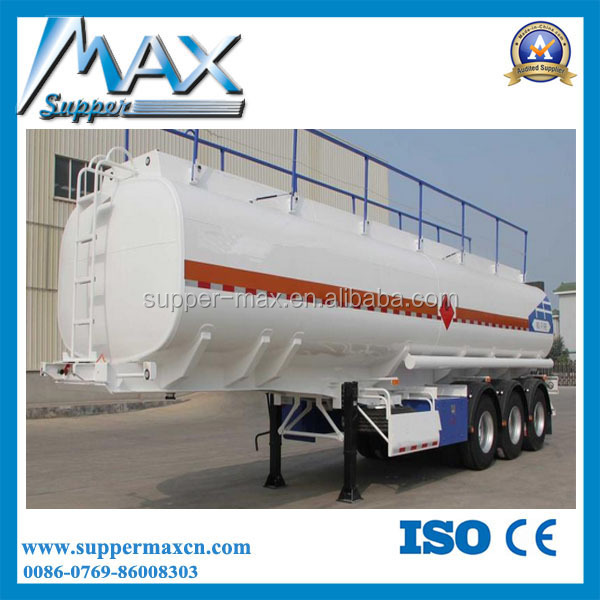50cbm Cooking Oil Transport Trailer for Palm Oil Road Tanker