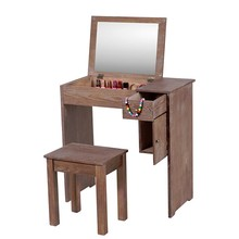 Finely processed mdf panel french dresser dressing table set