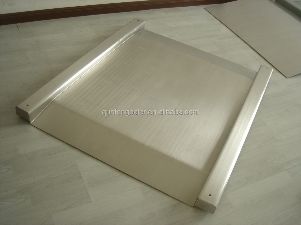 Stainless steel floor scale, stainless steel loadometer scale, stainless steel platform scale