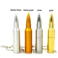 Promotional Novelty 2016 Metal Bullet Shape USB Pendrive with free sample