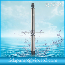 Wenling 6SP multistage deep well pump for Pakistan