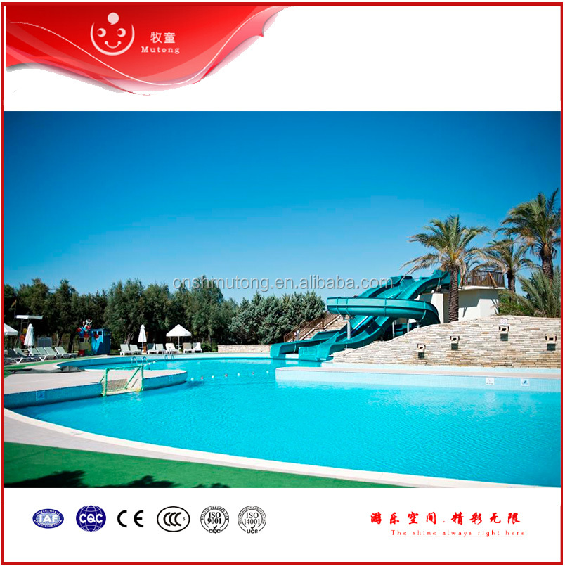 Aqua Play High Speed Fiberglass Water Park Slides For Adults And Kids