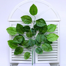 Yiwu Aimee supplies wholesale decorative types of leaves,apple tree leaves(AM-AL05)