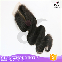Quality Loose Wave Virgin Indian Hair Lace Closure Weave For Wholesale