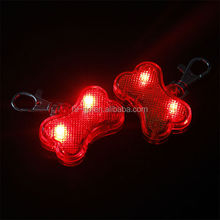 Hot new retail products LED pet dog ID tag