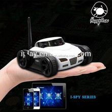2015 Newest WIFI APP controlled Mini I-SPY Tank with Real-time Camera BT-008308