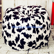 high quality bean bag fabric Mongolian Tibet faux fur sofa cover filling chair LYB003