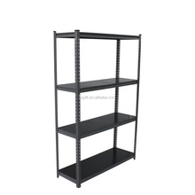 5 layer Partical Board Adjustable shelf Angle Iron Steel Rack