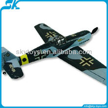 !2.4G 4-CH EPO Famous Warbird ME109 TW 749 remote control model rc plane kit