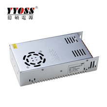 IP20 switching power supply 360W 12V 30A ac dc led power supply for indoor light