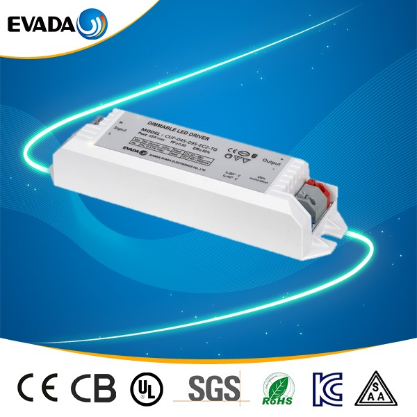 Dimming 45w 50w 60w led dimmable led power drivers PFC>0.98 for panel light