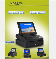 Customized cash register cheap shop billing machines with printer