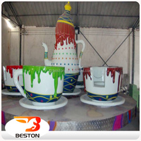 Children Amusement Park Equipment Coffee Cup Rides Tea Cup Rides For Sale