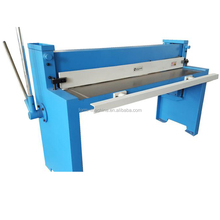1300mm lower price for manual sheets metal steel shearing machine
