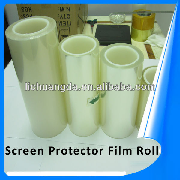 Premium durable high clear and matte/anti glare anti-scratch diamond protector film roll for mobile phones professional OEM!