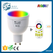 GU10 LED IN STOCK RGB +W LED Spotlight