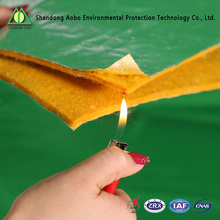 High quality anti-fire needle punch Nonwoven polyester felt