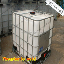 China manufacturer of anhydrous phosphoric acid 85%