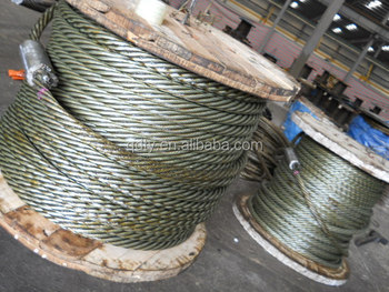 Rigging Stainless steel 7*19 wire rope marine hardware