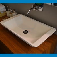 SIMBLE cheap price laboratory wash basin,bathroom sinks vanities top