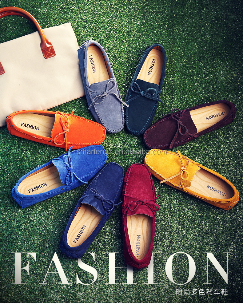 Factory Sale Loafer Driver Shoe,Slipper Leather Loafer Shoe