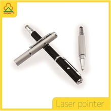 Multi-pattern red laser pointer with touch pen tip and ball-point tip of powerpoint presenter lazer pointer