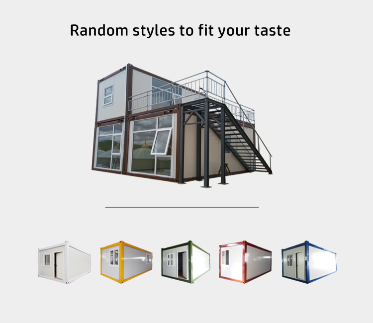 InfiCreation recyclable modular container homes factory price for carport-1